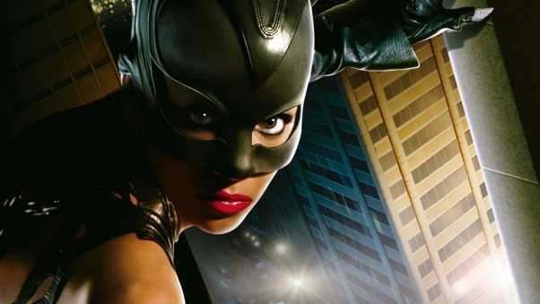 catwoman, girl, mask