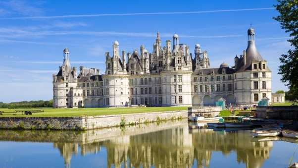 chateau de chambord, chateau, france