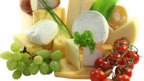 cheese, tomatoes, grapes