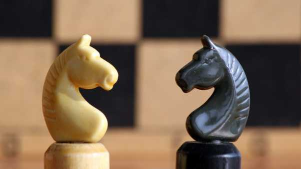 chess, figures, horse