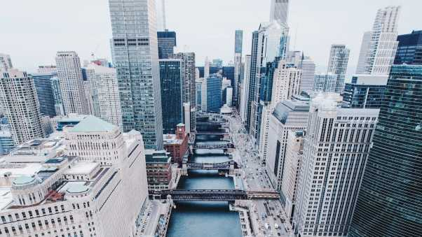 chicago, united states, skyscrapers
