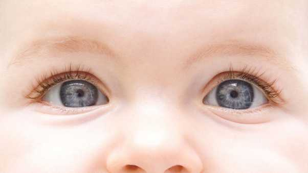 child, eyes, face