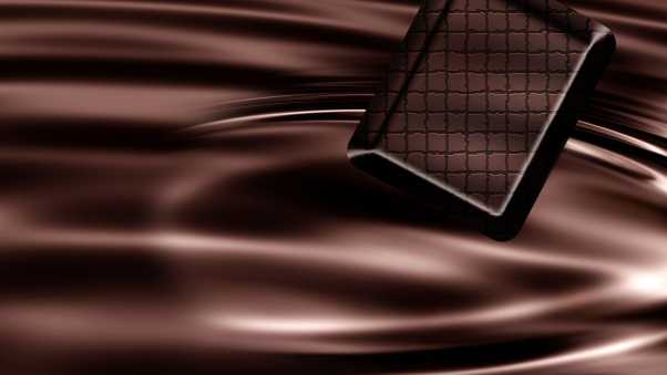 chocolate, tile, pattern