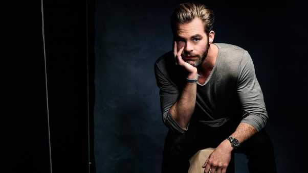 chris pine, actor, photo shoots