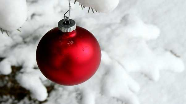 christmas decorations, ball, hanging
