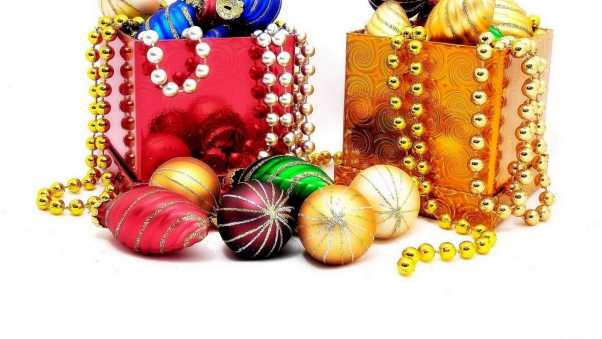 christmas decorations, diversity, jewelry boxes