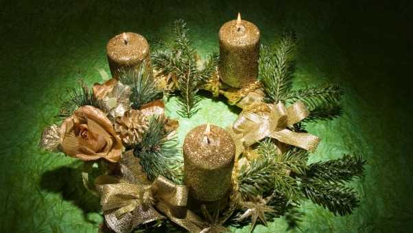 christmas, new year, candles