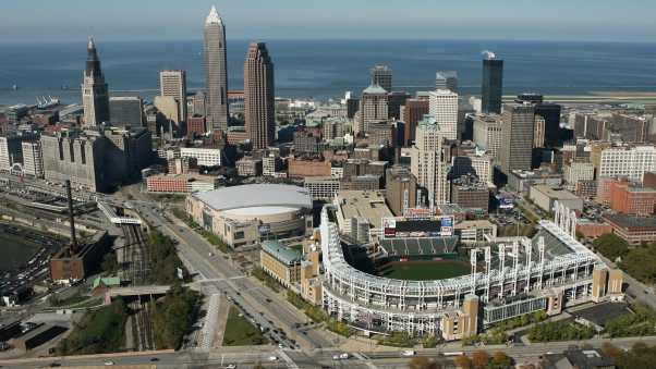 cleveland, united states, top view