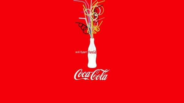coca cola, bottle, bright emotions