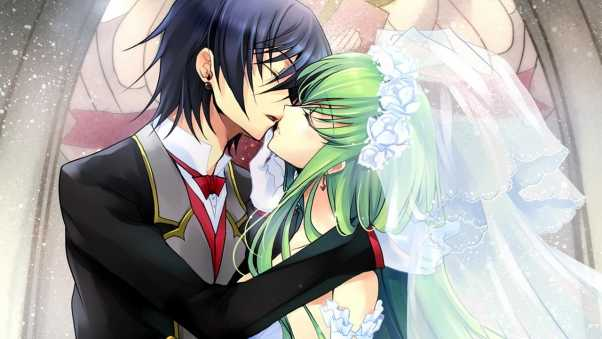 code geass, boy, girl