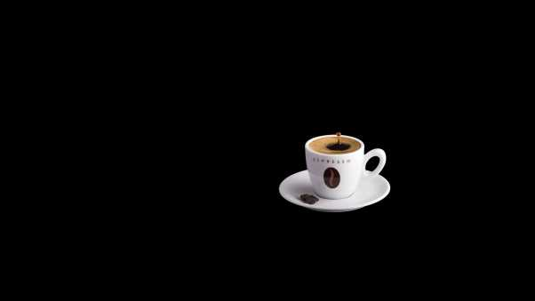 coffee, black, cup