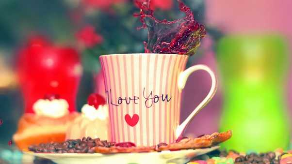 coffee, i love you, cup