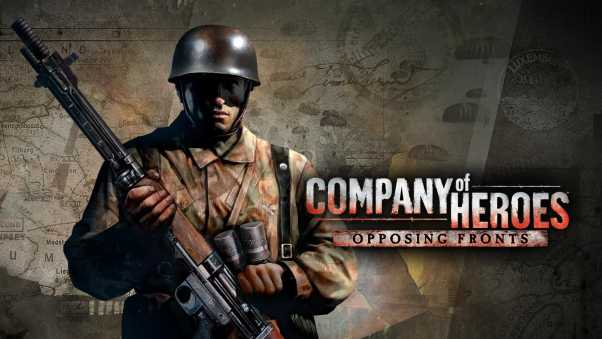 company of heroes opposing fronts, strategy game, relic entertainment