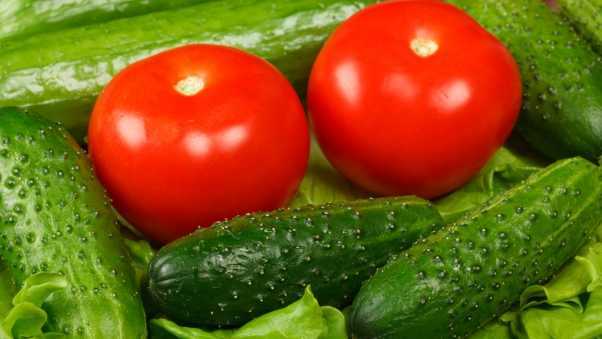 cucumbers, vegetables, background