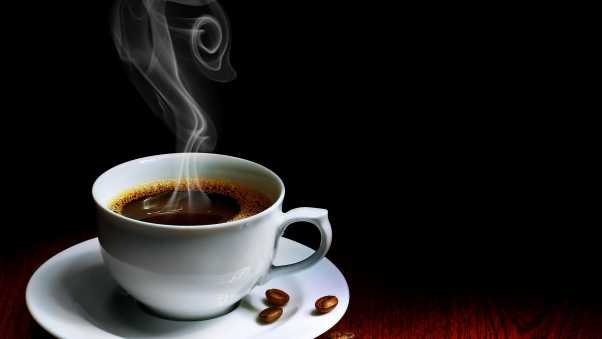 cup, coffee, steam
