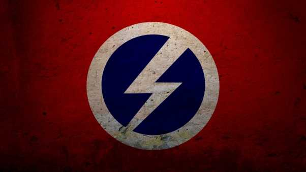 daemon tools, logo, wall