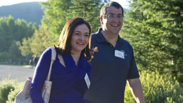 dave goldberg, sheryl sandberg, husband
