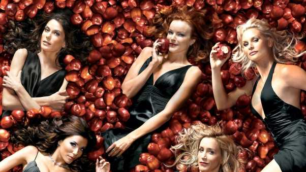 desperate housewives, main characters, photo shoot
