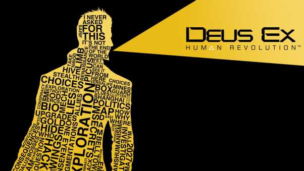 deus ex human revolution, adam jensen, words