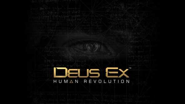deus ex human revolution, eye, background
