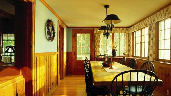 dining room, furniture, table