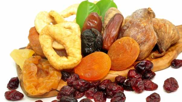 dried fruit, variety, many