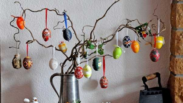 easter, holiday, branches