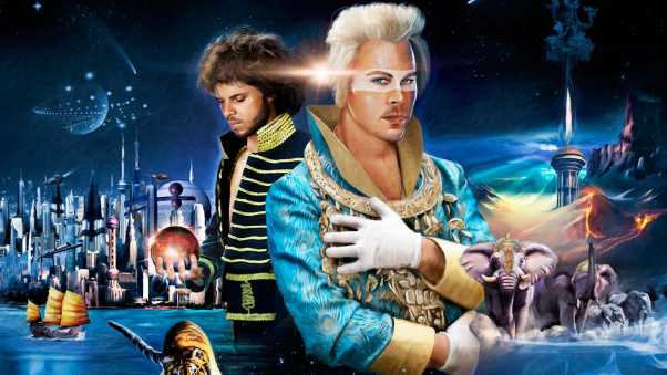 empire of the sun, graphics, space