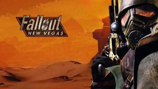 fallout new vegas, gun, art