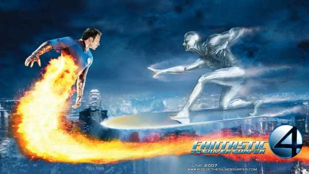 fantastic 4, rise of the silver surfer, chris evans