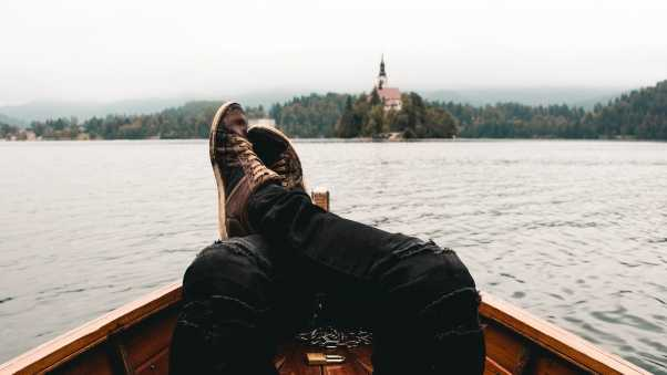 feet, boat, travel