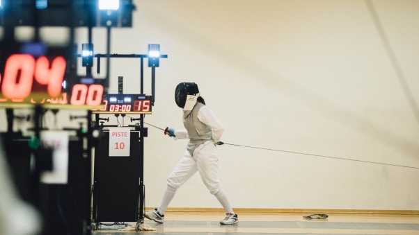fencing, equipment, sword