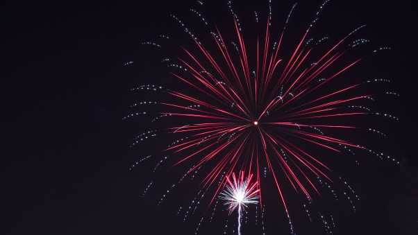 fireworks, salute, holiday