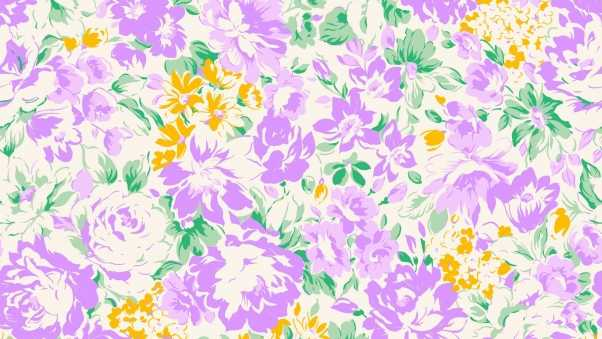 flowers, background, number