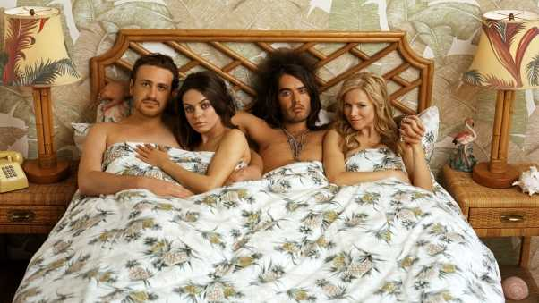 forgetting sarah marshall, actors, bed