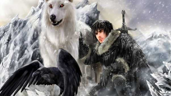 game of thrones, a song of ice and fire, jon snow