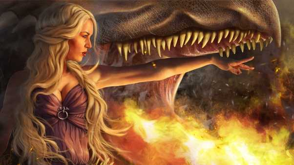 game of thrones, daenerys targaryen, girl