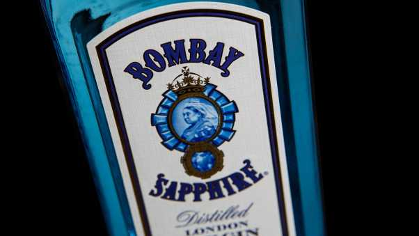 gin, bombay sapphire, alcohol
