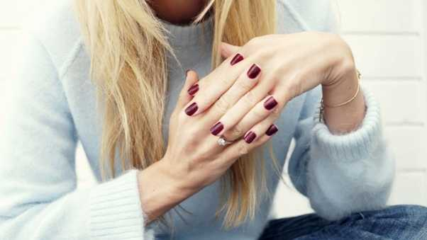 girl, hands, nails