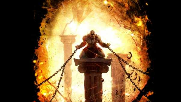 god of war, ascension, chains
