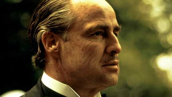 godfather, old, face