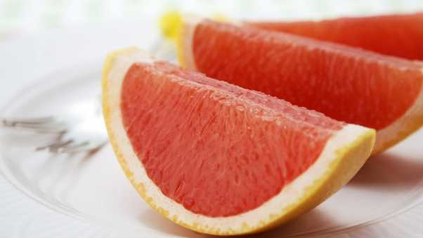 grapefruit, segments, citrus