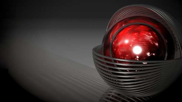 graphics, ball, red