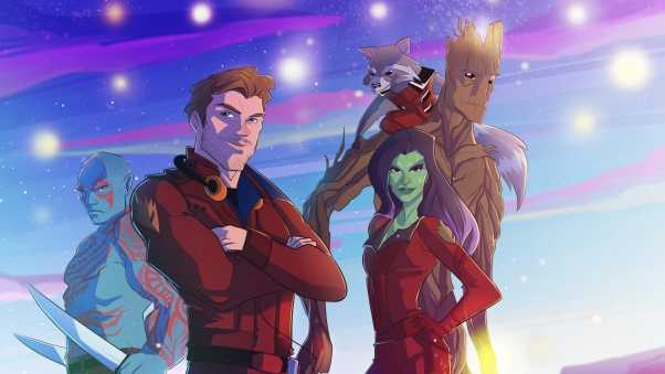 guardians of the galaxy, art, peter quill