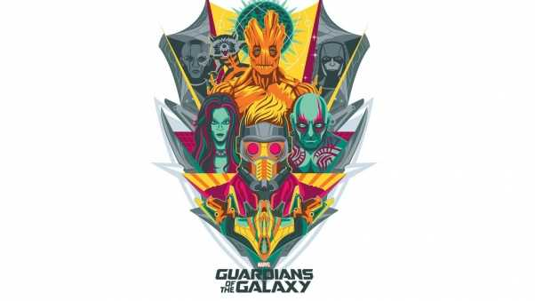 guardians of the galaxy, logo, marvel