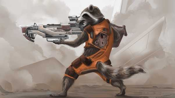 guardians of the galaxy, raccoon, arms