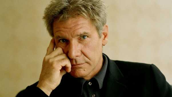 harrison ford, man, white-haired
