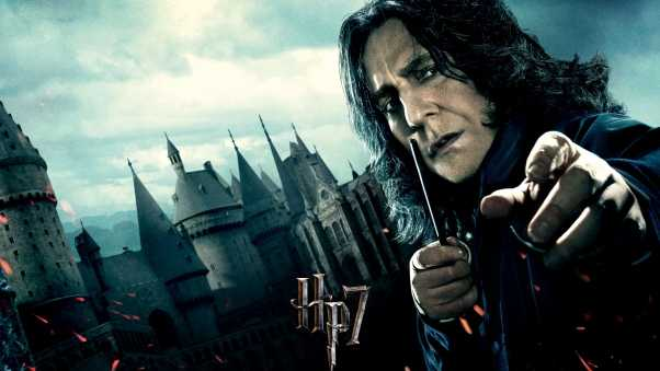 harry potter and the deathly hallows, severus snape, alan rickman