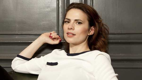 hayley atwell, actress, brunette