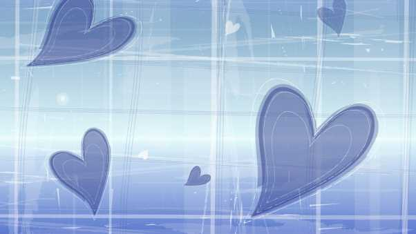 heart, shapes, background